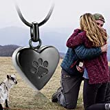 zeqingjw Pet Cremation Jewelry for Ashes Pendant