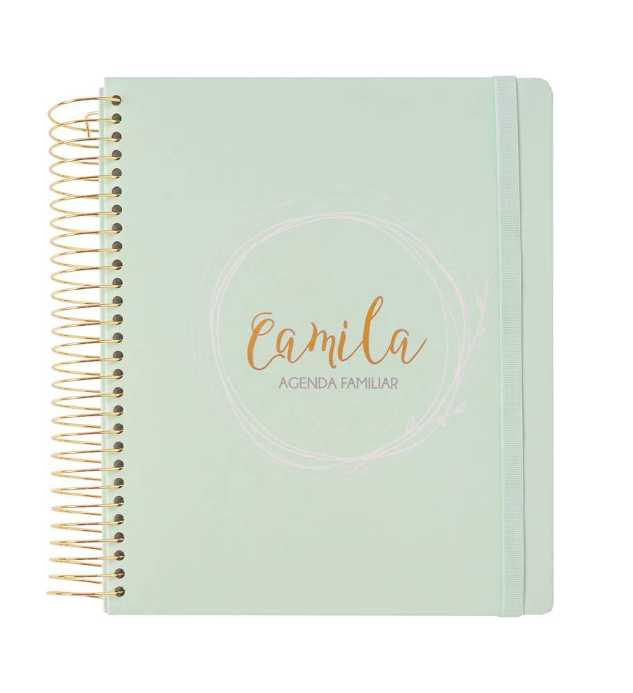 ERIK - Agenda Familiar Perpetua Camila, 20,5x25 cm: Amazon ...