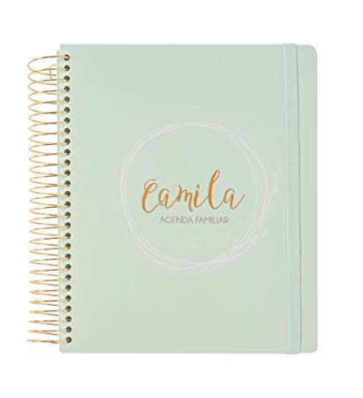 ERIK - Agenda Familiar Perpetua Camila, 20,5x25 cm: Amazon ...