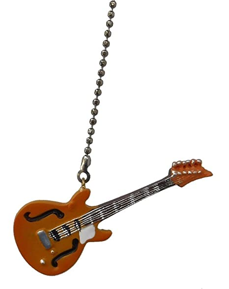 Electric guitar ceiling fan pull light chain extender ornament electric guitar ceiling fan pull light chain extender ornament yellow aloadofball Choice Image