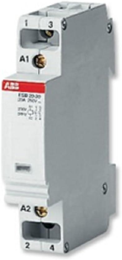 Abb-entrelec esb20-11/24v - Contactor esb 20-11/24 24v contacto abierto+contacto cerrado