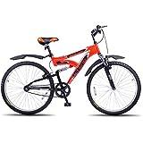 Hero Octane 26T Mercury Single Speed Junior Cycle  17.5-inches (Red)