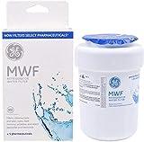 GE MWF Smart Refrigerator Genuine Water Filter Cartridge, General Electric Replacement Fridge Water Filter