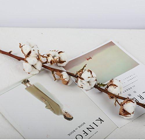 QingToo Algodón nórdicos Bouquets Material diy guirnalda fresca ...