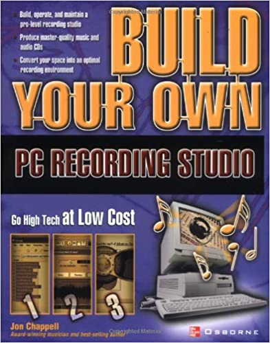 Pleasant Build Your Own Pc Recording Studio John Chappell 9780072229042 Largest Home Design Picture Inspirations Pitcheantrous