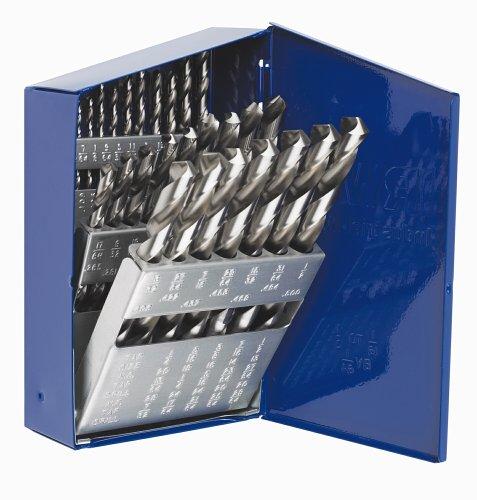 UPC 042526601385, IRWIN Tools 60138 Black Oxide High-Speed Metal Index Drill Bit Set with Case, 29pc Metal Index