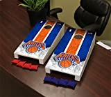 Victory Tailgate New York NYK Knicks NBA Desktop Mini Cornhole Game Set