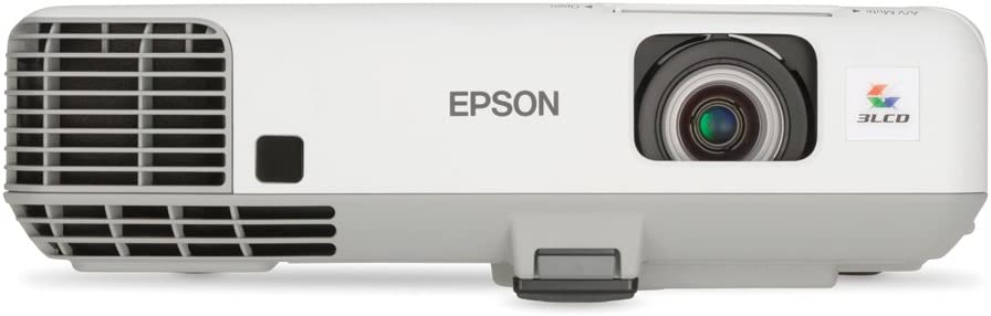 Epson PowerLite 905 XGA 3LCD Projector 3000 Lumens Audio VGA HDMI