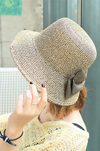 Generic Hat women girls _Korean_style_of new_post_on_fork_visor_sun_ hats women girls _Korean_style_of summer uv - Protection Straw