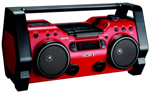 Sony ZSH10CP Portable Heavy Duty CD Radio Boombox Speaker System (Discontinued by Manufacturer) by Sony