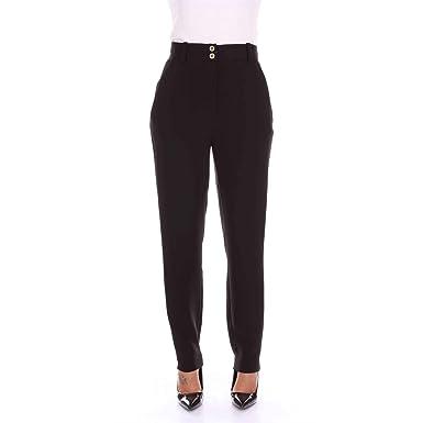 produits de qualité meilleur choix sur les images de pieds de Versace A79629A217281 Pantalon Femme Noir 42: Amazon.fr ...