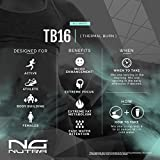 NG Nutra TB16 Thermal Burn, Reduce Fat, Support Energy, Mood, Concentration, Ease Water Retention, Metabolize and Tone, Sweetened with Sucralose, Tropical Fusion