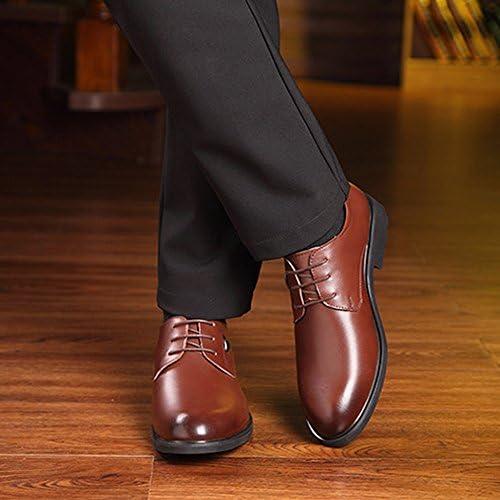 クラシックマットPUレザーアッパーレースアップ通気性の裏地オックスフォードメンズフォーマルビジネスシューズ 快適な男性のために設計
