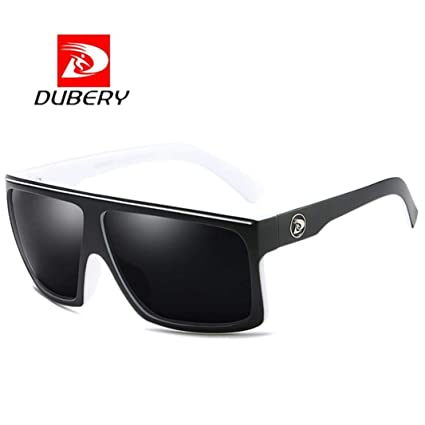 7809910adb8 DUBERY Sunglasses Men s Polarized Sunglasses Outdoor Driving Men Women Sport  Frame Fishing Hunting Boating Glasses (