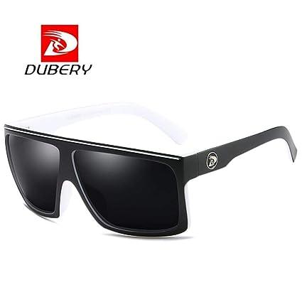 b581868089 DUBERY Sunglasses Men s Polarized Sunglasses Outdoor Driving Men Women  Sport Frame Fishing Hunting Boating Glasses (