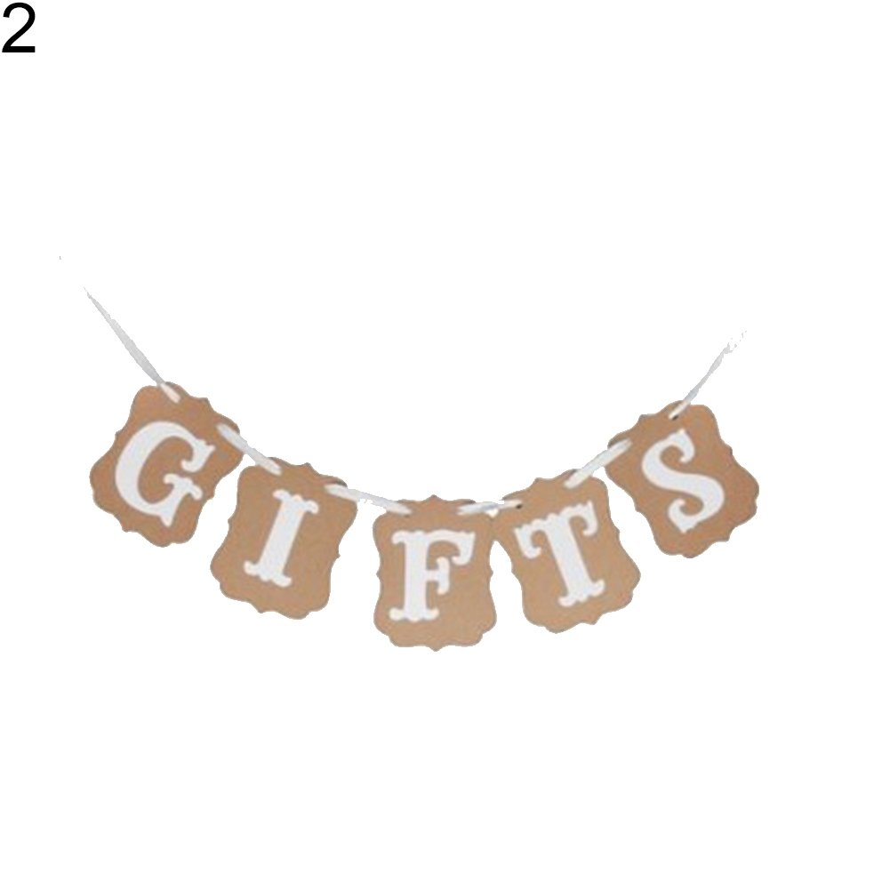 Slendima Cards Gifts Style Style Hanging Paper Garland Chain Party Banner Decoration 2#