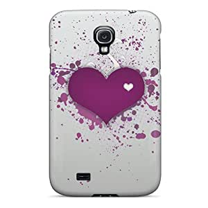 (aEpVVCF3555tESvS)durable Protection Case Cover For Galaxy S4(purple Love)