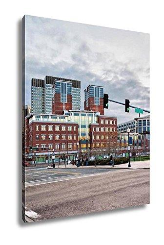 Amazon.com: Ashley Canvas Financial District At North End Park ...