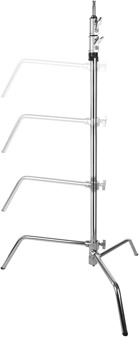 Walimex Pro Lampenstativ Mit Verstellbarem Fuß 320 Cm