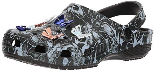 Crocs Clssc Botanical Clog Butterfly Women's Black aSqaOWfn