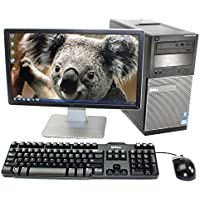Dell Optiplex 790 Refurbished Tower - 20 LCD - WIFI - Intel Quad Core i5 3.1GHz, 8GB, 1TB, Win 7 Pro (by RefurbTek)