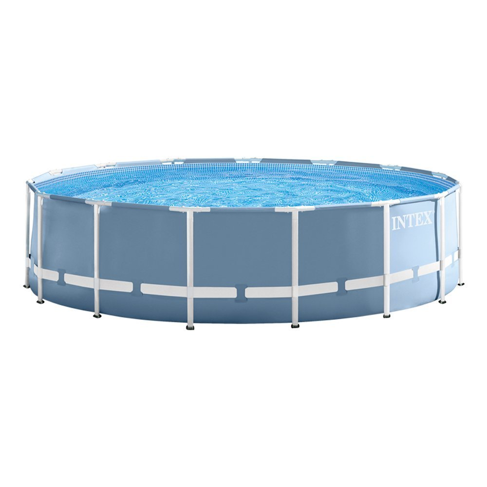 Intex 28236 - Piscina (Piscina con anillo hinchable, Círculo, Metal): Amazon.es: Jardín