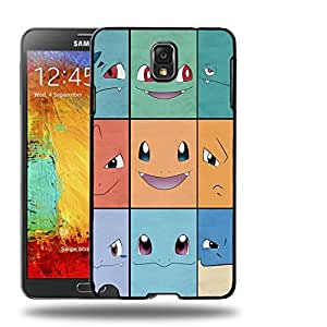 Case88 Designs Pokemon Venusaur Charizard Blastoise Protective Snap-on Hard Back Case Cover for Samsung Galaxy Note 3