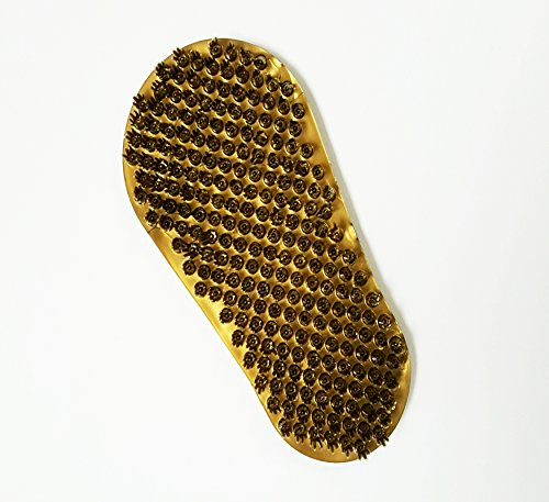 Soapy Soles Foot Scrubber (Bronze) - Foot Brush Provides a Soft Bristled Surface for Cleaning and Invigorating Feet, Suctions to Tub or Shower Floor by Body & (Soapy Soles Foot Scrubber)