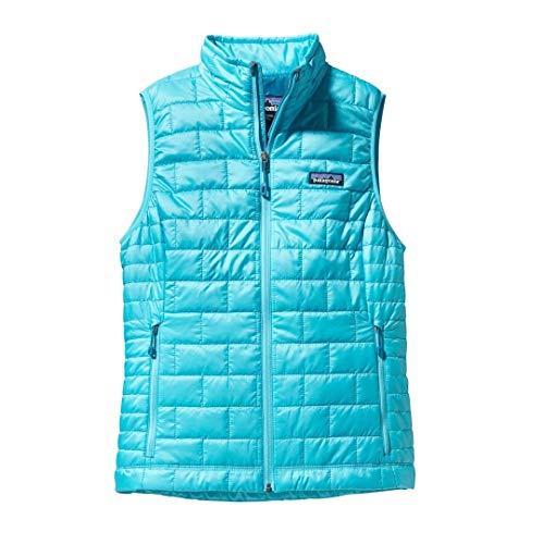 Patagonia New Womens Ultra Marine Nano Puff Primaloft Full Zip Vest Size XS -