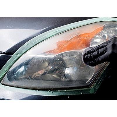 3M Quick Headlight Renewal, Helps Remove Light Haziness & Yellowing in Minutes, Hand Application, 1 Sachet: Garden & Outdoor