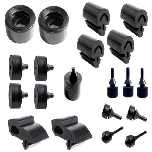 Metro Moulded Parts SBK 2325 20-Piece Snap-In Bumper Kit