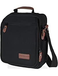 "<span class=""a-offscreen"">[Sponsored]</span>Vintage, Heavy Duty, Canvas Messenger Bag, with Anti-theft Pocket 