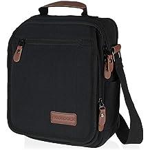 Vintage, Heavy Duty, Canvas Messenger Bag, with Anti-theft Pocket   Wear Over Shoulder or Crossbody