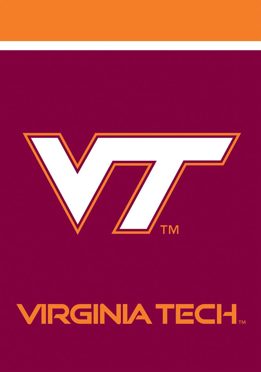 "Briarwood Lane Virginia Tech Hokies Garden Flag NCAA Licensed 12.5"" x 18"""