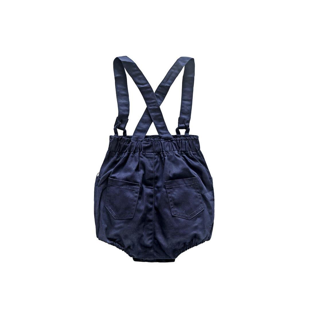 Petos Pantalones Cortos Qinmm Bebes Varones Bowtie Body Camisa Mono Conjuntos Ninos De Hasta 24 Meses