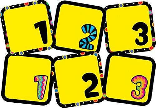 (Creative Teaching Press Poppin' Patterns Calendar Days (1241))