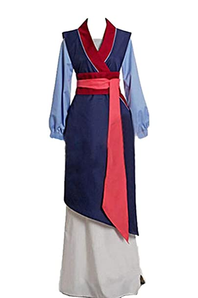 lancoszp Mujer Disfraz de Princesa China Carnaval Halloween Traje ...