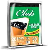 Sanita Trash Bags Club, 30 Gallons, 20 Bags, OXO Biodegradable