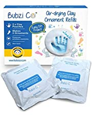 Bubzi Co Ornament Clay Kit 2 Paquet de 4