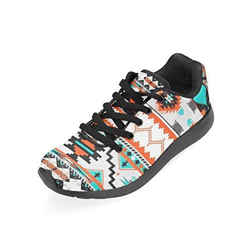 Interesprint Mujeres Road Running Zapatos Jogging Ligero Deportes Walking Athletic Sneakers Arrows