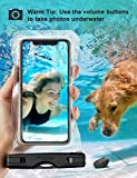 "Mpow 097 Universal Waterproof Case, IPX8 Waterproof Phone Pouch Dry Bag Compatible for iPhone 11/11 Pro Max/Xs Max/XR/X/8/8P Galaxy up to 6.8"", Phone Pouch for Beach Kayaking Travel or Bath"