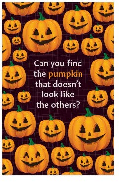 Bible Tracts For Halloween (Find The Pumpkin (Mini Gospel Tract Card, Packet of 100,)