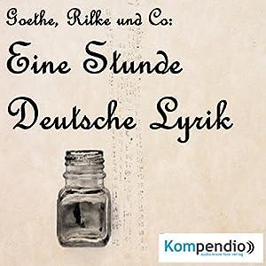 Eine Stunde deutsche Lyrik Audiobook
