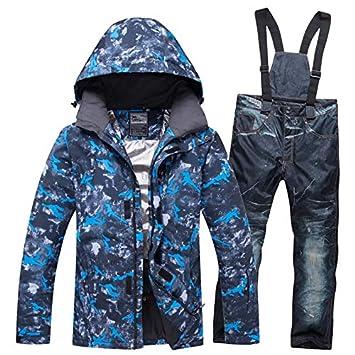 XMDNYE Chaqueta Y Pantalones De Esquí De Snowboard para ...