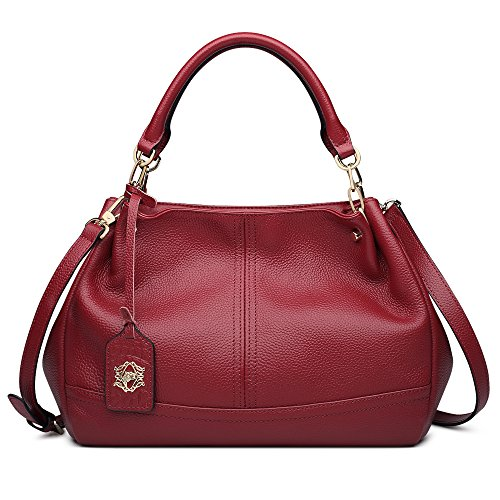 Red Leather Handbags - 8