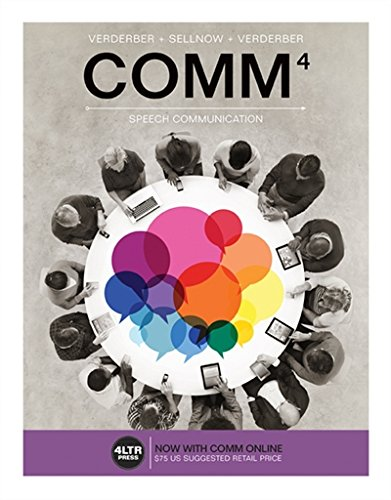 COMM (with COMM Online, 1 term (6 months) Printed Access Card) (New, Engaging Titles from 4LTR Press) by Wadsworth Publishing