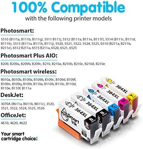 Smart Ink Reemplazo Compatible del Cartucho de Tinta HP 364 XL ...