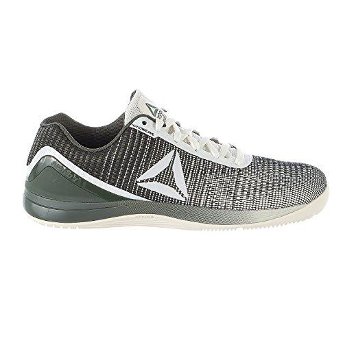 Reebok Men's R Crossfit Nano 7 Sneaker, Men's chalk/Hunter Green, 9 M US by Reebok