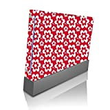 Fun Flowers Pattern Bold Wii Console Vinyl Decal Sticker Skin by Debbie's Designs