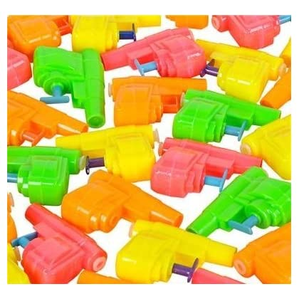 Small Water Gun For Pool And Out Door Summer Fun Set Of 12 Pics.